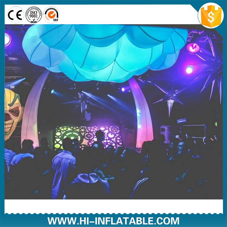 Inflatable cloud decoration cloud shape balloon with for Balloon cloud decoration