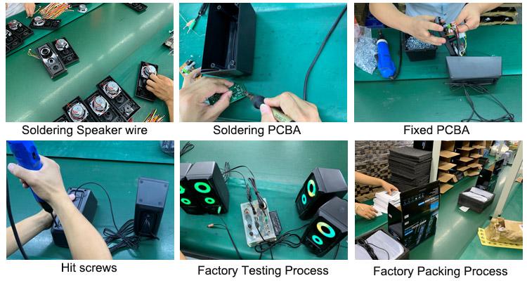 2.1 Sound System Speaker Box 21 Multimedia Subwoofer Speaker Sistem Home Theater