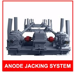 Pneumatic Jack Smelting Equipment Aux Beams Raising Machine Anode Rack Beam Rising Frame for Isal