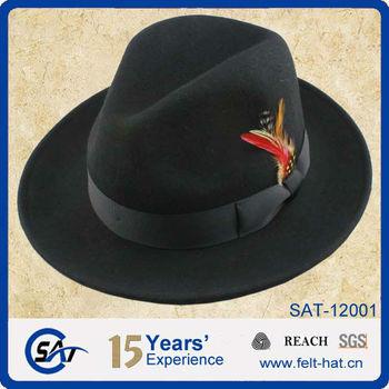 f7a8e47062c8d Barato Fedora Sombreros Con Plumas