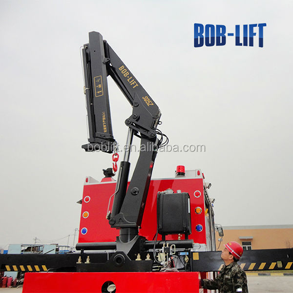 Hydraulic Boom Lifts For Pickups : Electric hydraulic lift arm trailer crane buy