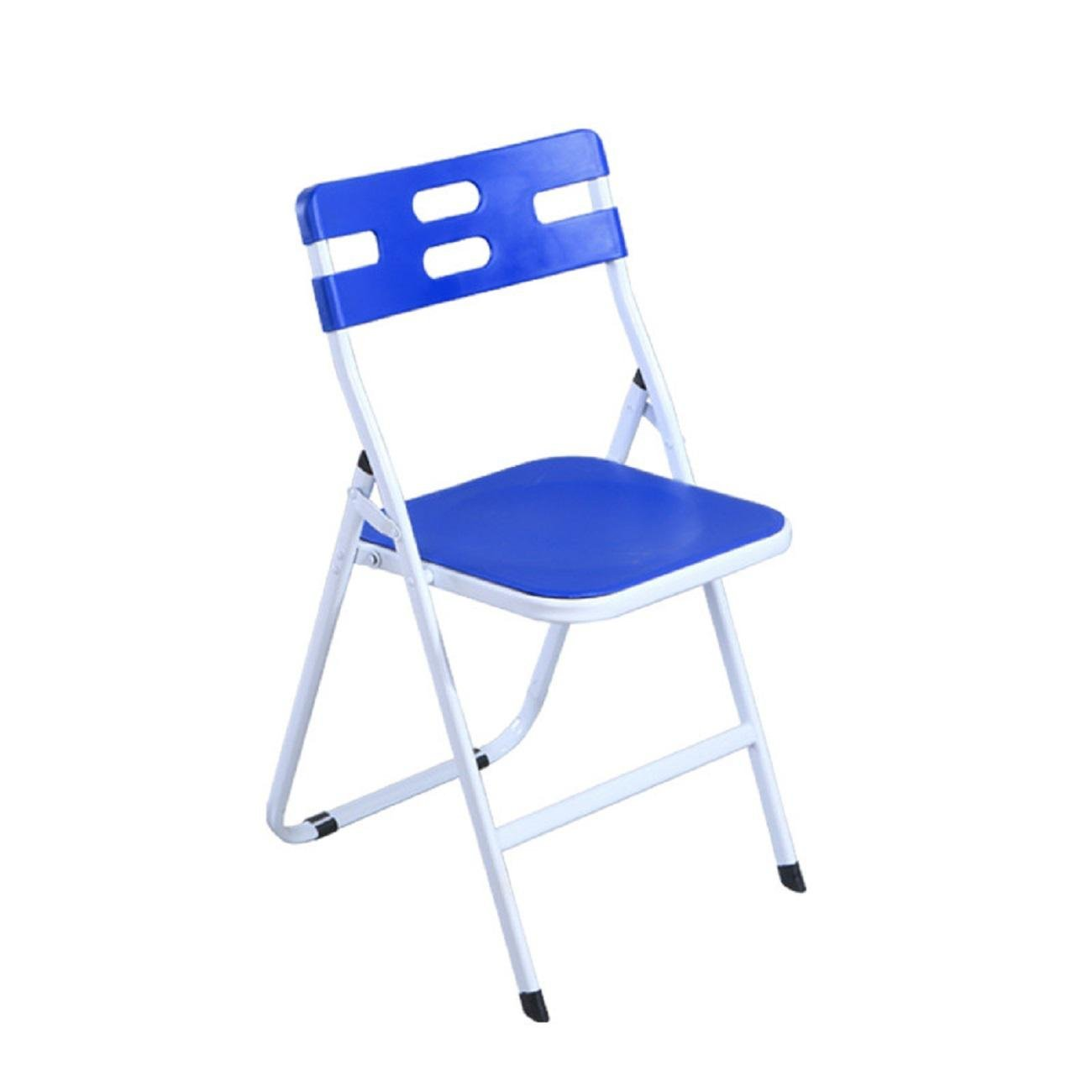 JUIANG Plastic Folding Backrest Stool Collapsible Conference Office Chair Training Chair Student Plastic Dining Chair Weighing 180kg