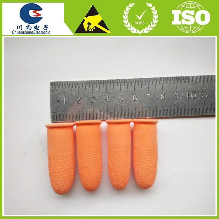 dediles de ltex de caucho de calidad industrial de color naranja mm de
