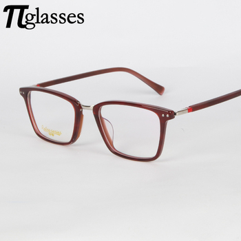 Nice Red Thick Eyeglasses Acetate Optical Frame Reading Glasses