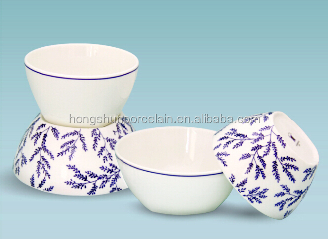Personalized Colorful Decorative Rice Bowl Ceramic Made In China