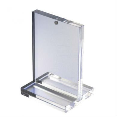 custom tabletop acrylic menu holder