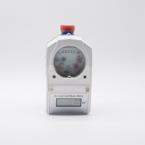 Intelligent Smart Digital Temperature Control Water Meter IC Card Prepaid Water Meter