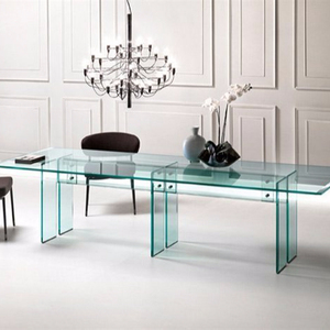 custom design indian unbreakable tempered safety glass table top
