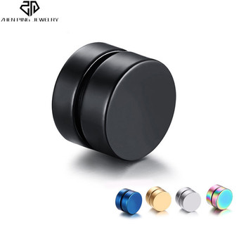 Fashion Non Pierced Stud Earrings For Men Women