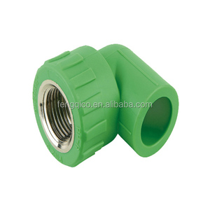 Green Color PPR Pipe Fitting,PPR Female Elbow