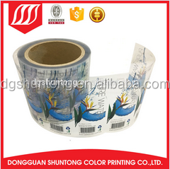 Best selling electric label stickers hot stamping label medicine bottle label
