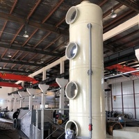 Large Waste Gas Treatment exhaust gas scrubber for So2 Purifying