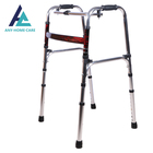 Lightweight aluminum foldable Outdoor Helper walking aid for handicapped