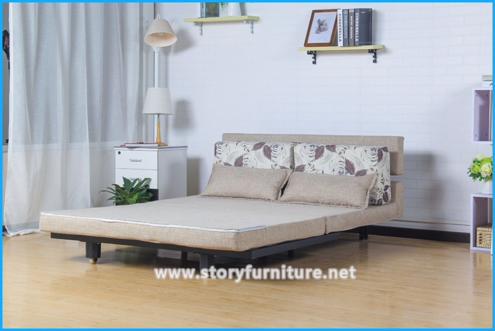 Click Clack Push Down Multifunctional <strong>Sofa</strong> Into Bed