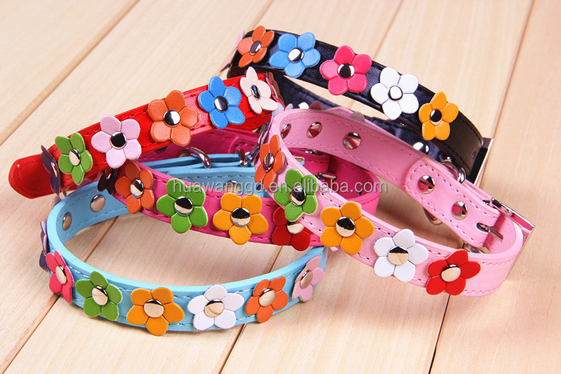 new products on china market Leather Collar small <strong>dogs</strong>