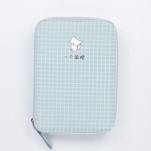 JIANWU 1 шт. Корейская креативная канцелярская сумка для девочек и мальчиков, вместительный пенал, чехол-карандаш, школьные милые офисные прина...(Китай)