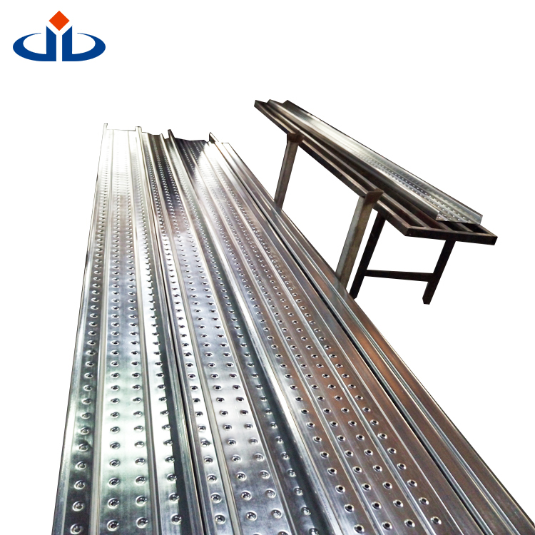 China Supplier Steel Galvanized Walking Plank Metal Building Materials Perforated steel plank