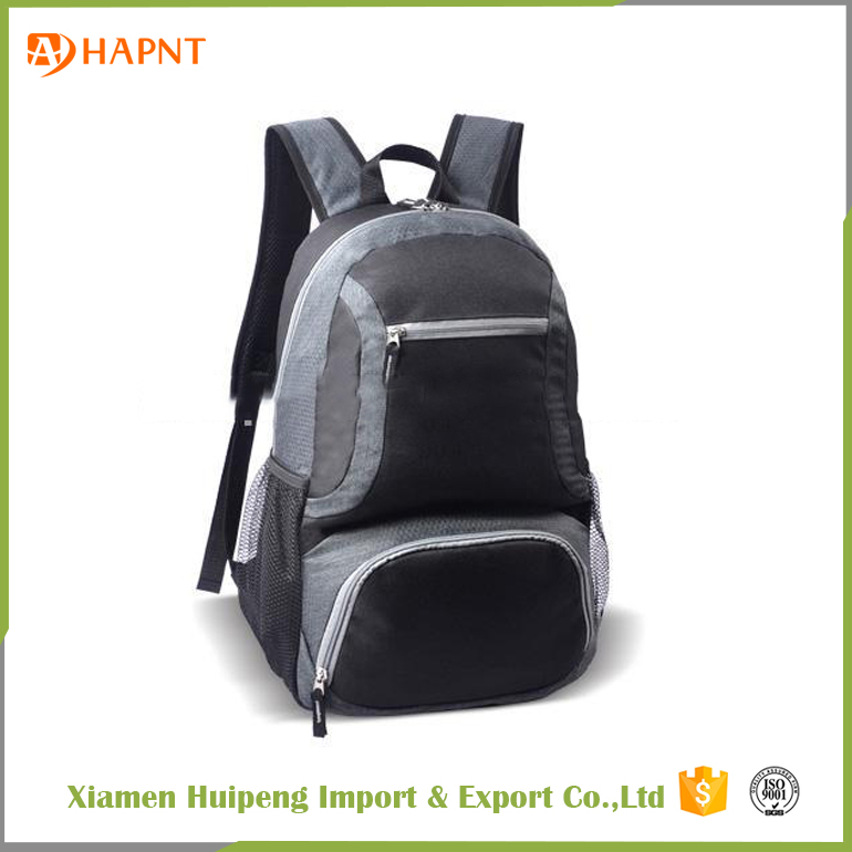 Promotional Outdoor Sport Leisure Backpack 600D PVC Multifunction Laptop Bag For Sale