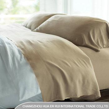 Made In China 100 Polyester Plain Color Microfiber Bed Sheets Bedding Set Duvet