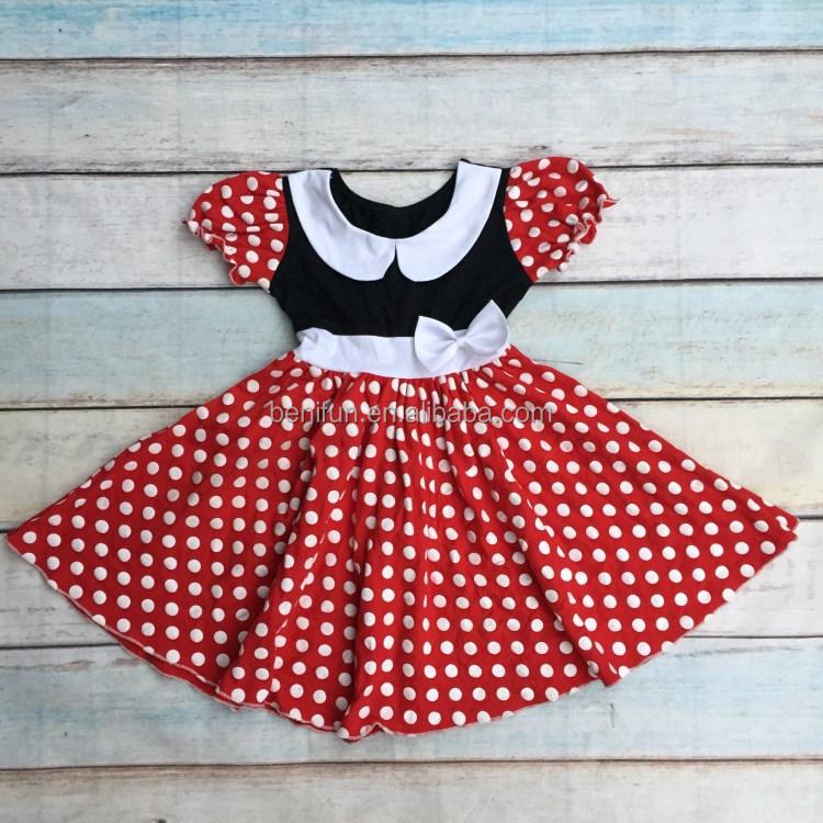 Großhandel rotes kleid mit weißen punkten baby Kaufen Sie die besten ...