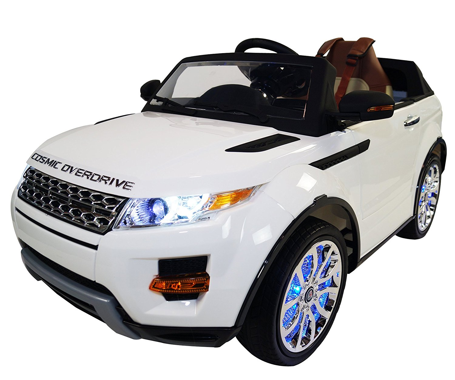 9a7714763295 Range Rover Style Premium Ride On Electric Toy Car For Kids - 12V Battery  Powered -