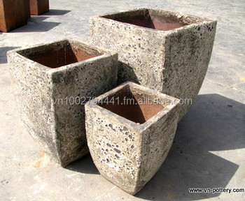 Wholesale Sea Foam Pots Atlantis Planters Sandstone