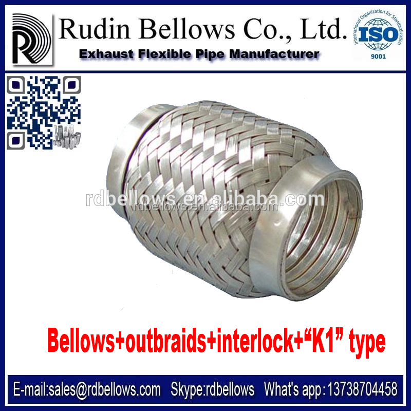 RUDIN generator exhaust pipe wholesale, interlock flex pipe