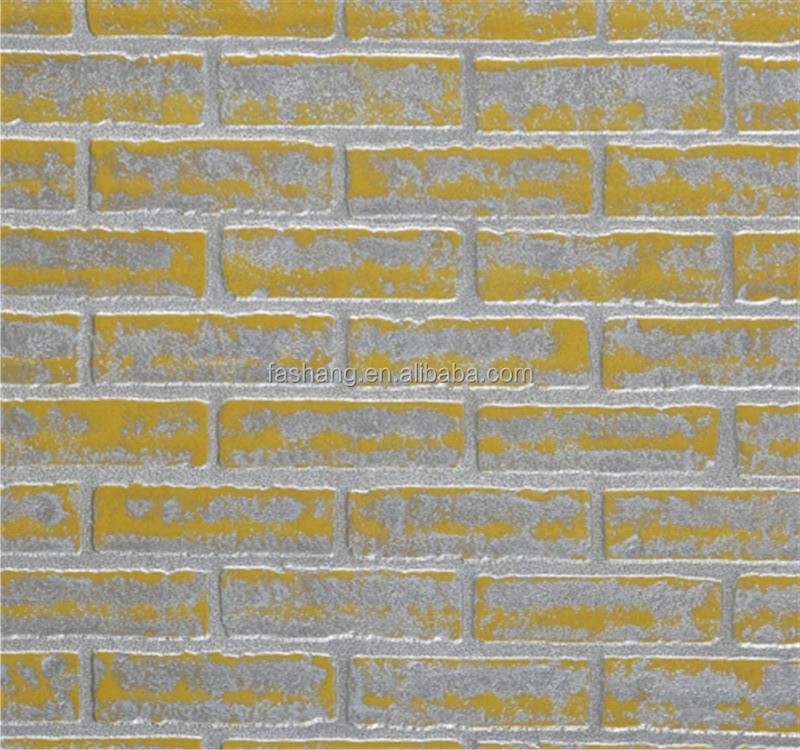 Lowes cheap fs 926 3d brick wallpaper for wall buy 3d for Cheap brick wallpaper