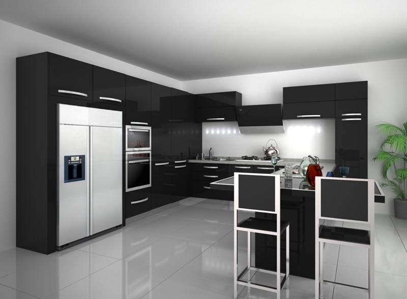 Venta Caliente Del Coche Pintura Gabinete De Cocina Mueble Moderno ...