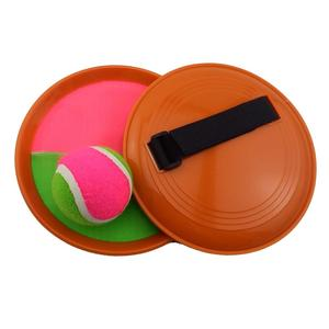 Ningbo Sno Free Sample Sticky Catch Set Suction Ball Game Set