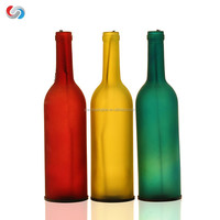 Decorative Glass Candle Holder for DIY Lighting Wine Bottle Jar Perfect DIY Birthday Gift Party Lantern Lamp