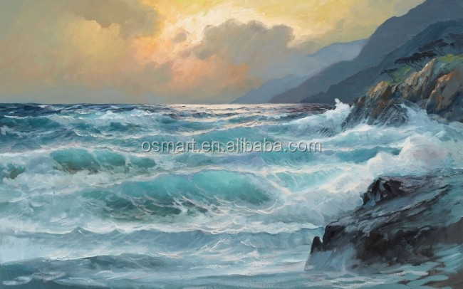 seascape paintings on canvas famous abstract paintings pictures best selling handmade items