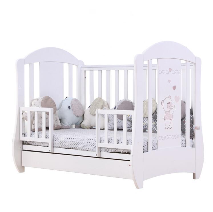 Bébé en bois meubles GRANDIR LIT BÉBÉ