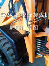 Hydraulic wheel loader digger New loader digger and shovel backhoe for sale