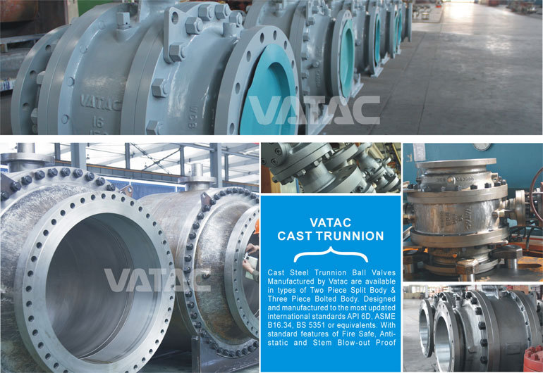 Trunnion Mounted Flanged Ends Shutdown Valve Vendor