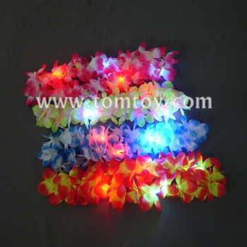 Tomtoy Wholesale Hawaii LED Flashing Leis
