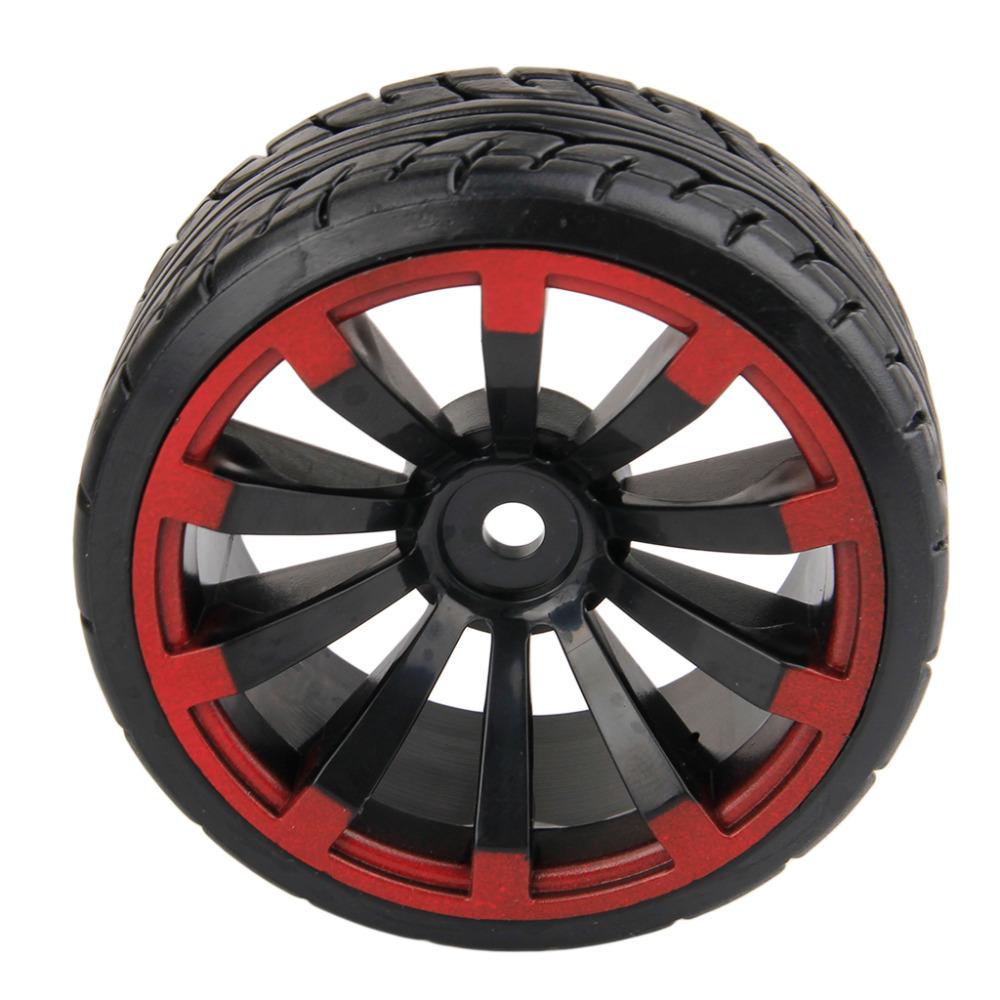 Wholesales 4pcs 1/10 Scale RC On Road Car Drift Tires Hard