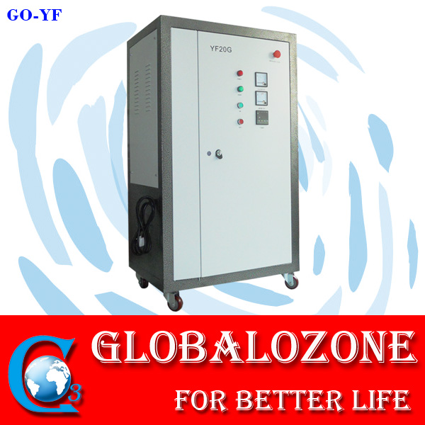 Integrated water sterilizer heavy duty ozone generator for decolorization
