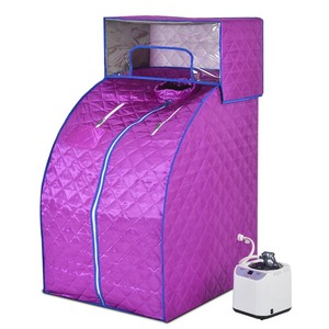 1 person Portable Home Steam Sauna Room in different color with CE and ROHS certificate
