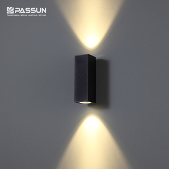 modern outdoor light 12w IP65 outdoor decoration wall lamp