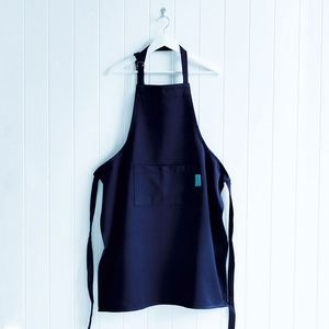 Cheap Aprons 100%Cotton High Quality Apron Wholesale Adjustable Unisex Black Chef'S Bib Cotton Apron