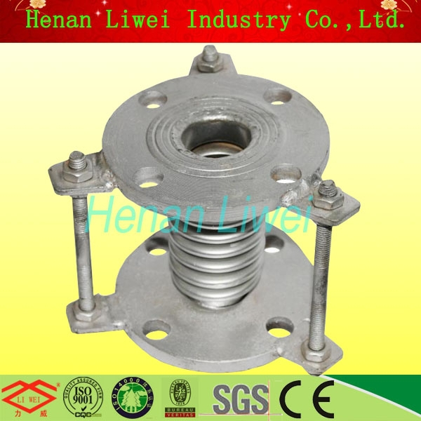 Pipeline flexible hydro formed metal bellows expansion joint