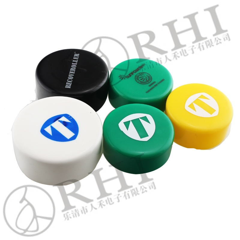 Round plastic end caps, pvc protector for tubing, pc tube pipe fitting vinyl end caps