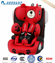 luxury cute design baby seat ISOFIX LATCH car cover ecer4404 group 123 9 36kgs