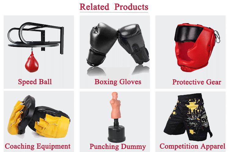 Großhandel Custom Gewinnen Leder Boxing Handschuhe