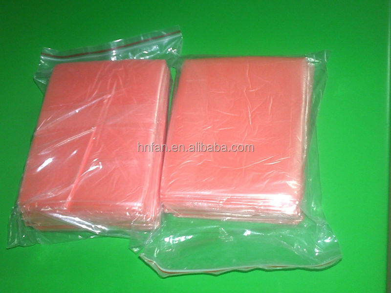 Embossing recycle water soluble PVA commercial laundry Bags