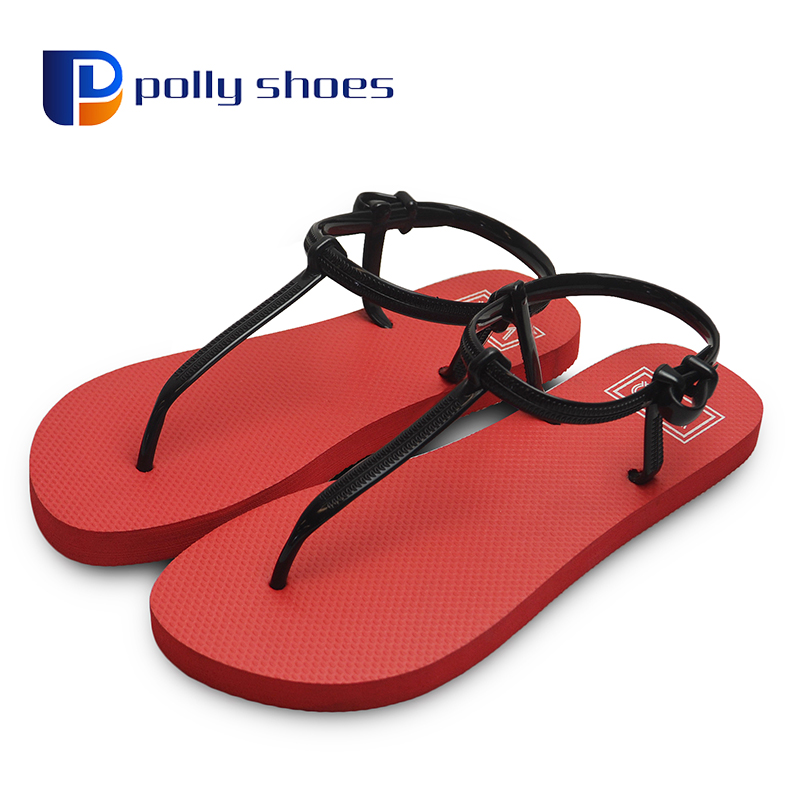 Brand rubber Flip Flops Sandals Shoes Woman 2017
