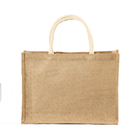 Good market accept custom printing jute bag with handle