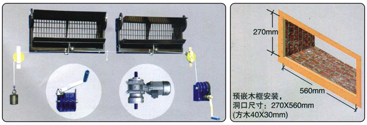 Poultry Farm Equipment Chicken Farm House Air Inlet Window System
