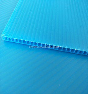 Polypropylene pp material carton plastic sheet plastic corrugated sheets for box